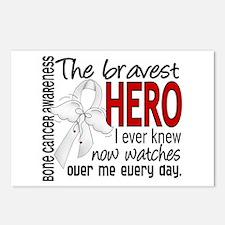 Bravest Hero I Knew Bone Cancer Postcards (Package