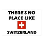 There Is No Place Like Switzerland Postcards (Pack