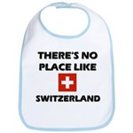 There Is No Place Like Switzerland Bib