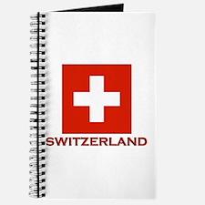Switzerland Flag Merchandise Journal