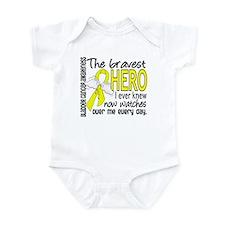 Bravest Hero I Knew Bladder Cancer Infant Bodysuit