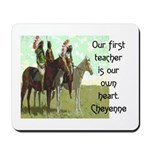 OUR FIRST TEACHER Mousepad