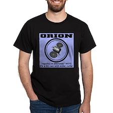 Orion Apollo on Steroids Black T-Shirt