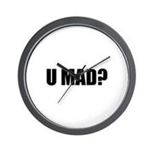U MAD? Wall Clock