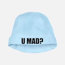 U MAD? baby hat