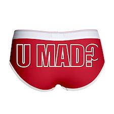 U MAD? Women's Boy Brief