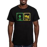 OMG Men's Fitted T-Shirt (dark)