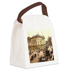 Piccadilly Circus Canvas Lunch Bag