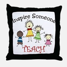 Inspire Someone Throw Pillow