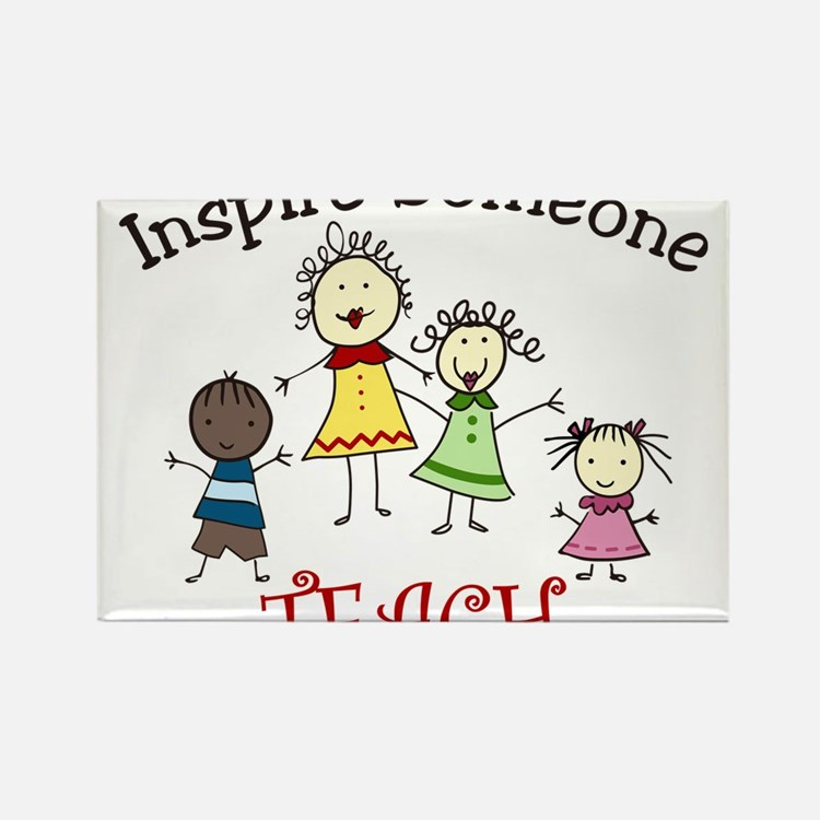 Inspire Someone Rectangle Magnet