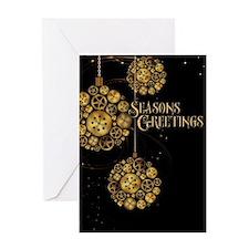 Clockwork Greeting Card
