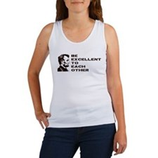 Lincoln: Be Excellent To Each Other Women's Tank T