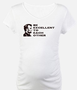 Lincoln: Be Excellent To Each Other Shirt