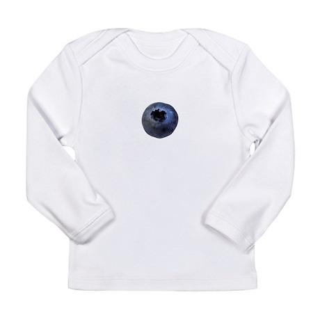 Big Blueberry Long Sleeve Infant T-Shirt