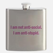 Anti-social Pink Flask