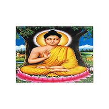 Buddha 5'x7'Area Rug