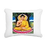 Buddha Rectangular Canvas Pillow