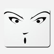 Anime Face T Shirt Mousepad