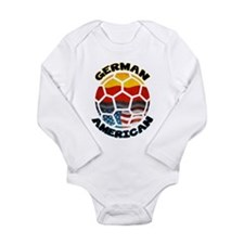 German American Football Soccer Long Sleeve Infant