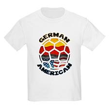 German American Football Soccer T-Shirt