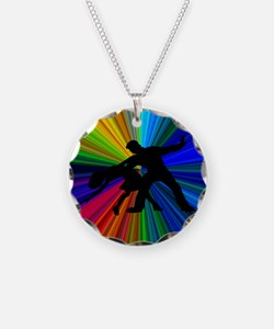 Dazzling Dance Silhouettes Necklace