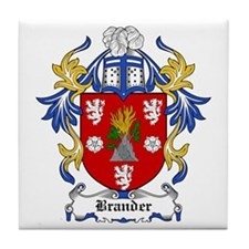 Brander Coat of Arms Tile Coaster