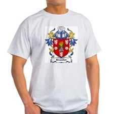 Brander Coat of Arms Ash Grey T-Shirt