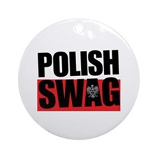 Polish Swag - 2012 Ornament (Round)