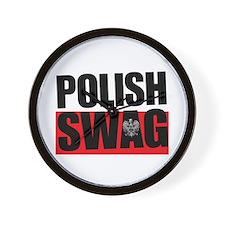 Polish Swag - 2012 Wall Clock