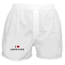 I HEART ASHWATER  Boxer Shorts