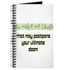 You make me laugh Journal