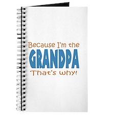 Because Im the Grandpa Journal