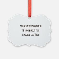 artiicial intelligence Ornament