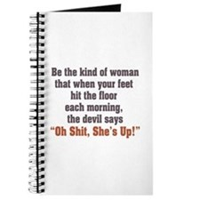 be the kind of woman Journal