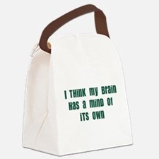 mind of its own Canvas Lunch Bag