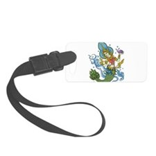 hindu mermaid Luggage Tag