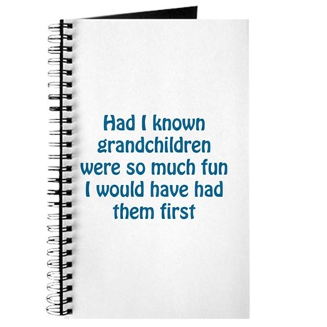 fun grandchildren Journal