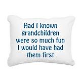 Grandfather Rectangle Canvas Pillows