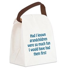 fun grandchildren Canvas Lunch Bag