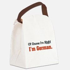 Im German Canvas Lunch Bag