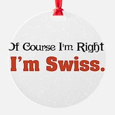 Im Swiss Ornament