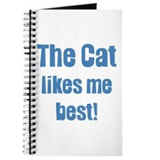 The cat likes me best Journal