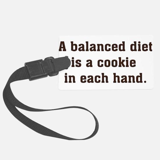 a balanced diet Luggage Tag