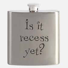 Is it recess yet? Flask