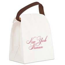 new york woman Canvas Lunch Bag