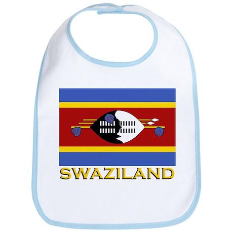 Flag of Swaziland Bib
