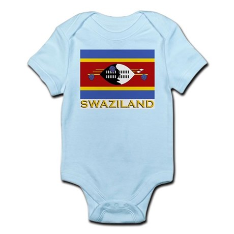 Flag of Swaziland Infant Creeper
