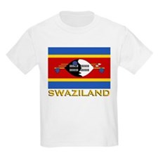 Flag of Swaziland Kids T-Shirt