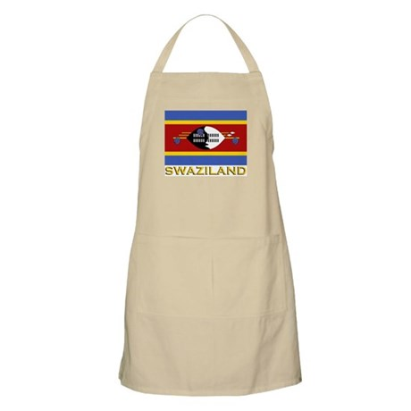 Flag of Swaziland BBQ Apron