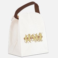 dancing mice Canvas Lunch Bag
